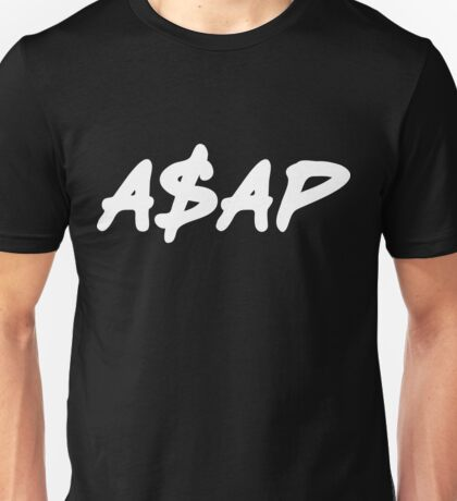 ASAP Always Strive And Prosper | A$AP Clothing Unisex T-Shirt