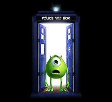 Tardis Monster inc by davinciart