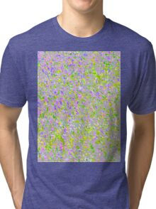 Informel Art Abstract Tri-blend T-Shirt