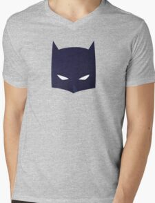 Batman Cowl!  Mens V-Neck T-Shirt