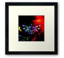 Triforce Space Framed Print