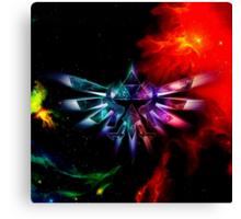 Triforce Space Canvas Print