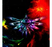 Triforce Space Photographic Print