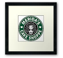 Merida's Cake Shoppe Framed Print