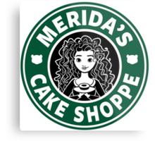 Merida's Cake Shoppe Metal Print