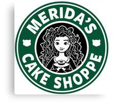 Merida's Cake Shoppe Canvas Print