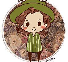 Button Harry - Frog by karukara