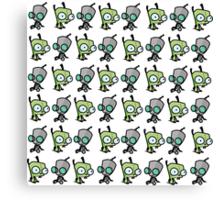 Checkered Gir pattern Canvas Print