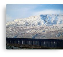 A sense of scale and time Canvas Print