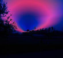 Hot Pink Sunset by Cheyenne