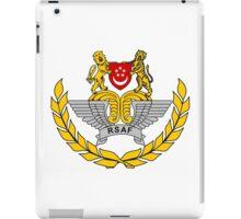 Singapore Air Force Crest iPad Case/Skin