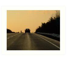 Travel Near and Far Art Print
