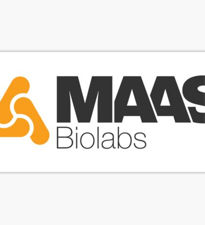 MAAS Biolabs Corporate Logo Sticker Sticker