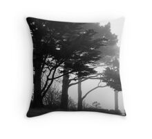 Trees In A Veil Throw Pillow