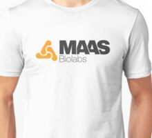 MAAS Biolabs Corporate Logo TShirt White Unisex T-Shirt