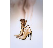 boots were made for... Photographic Print