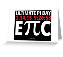 Ultimate EPIC Pi Day 2015 Greeting Card