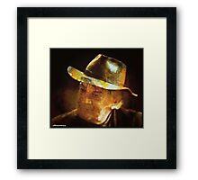 Thinking cap Framed Print