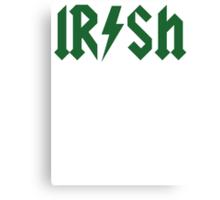 Irish Pride St Patrick Day Canvas Print