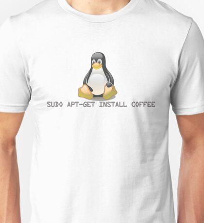 Linux - Get Install Coffee. Unisex T-Shirt