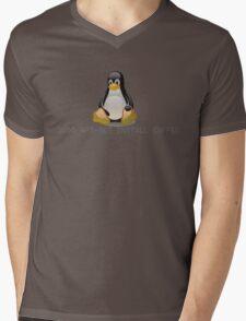 Linux - Get Install Coffee. Mens V-Neck T-Shirt