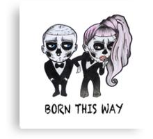 Bones This Way Canvas Print