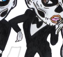 Bones This Way Sticker