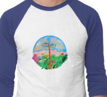 San Francisco Love-In Men's Baseball ¾ T-Shirt