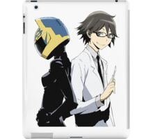 Durarara!! Celty and Shinra iPad Case/Skin