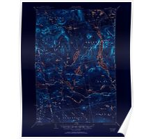 Maine USGS Historical Map Spencer 460899 1932 62500 Inversion Poster