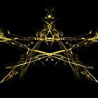 Golden Star Blast by AsteriskZero