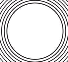 Circle blend Sticker