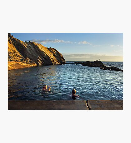 Bermagui Blue Pool Photographic Print