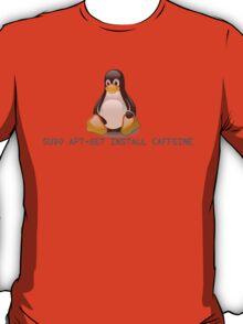 Linux - Get Install Caffeine T-Shirt