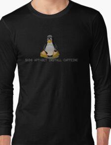 Linux - Get Install Caffeine Long Sleeve T-Shirt