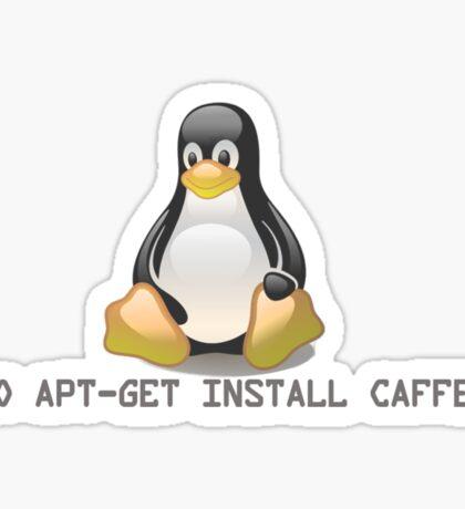 Linux - Get Install Caffeine Sticker
