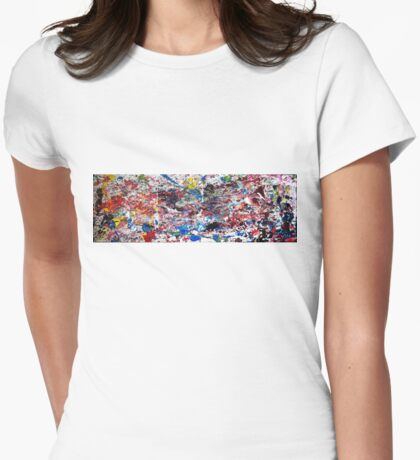 Marathon (2015) Womens Fitted T-Shirt