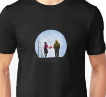 Pac Man and Ghost Unisex T-Shirt