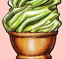 Pistachio Soft Serve by Kelly  Gilleran