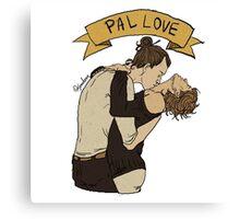 PAL LOVE Canvas Print