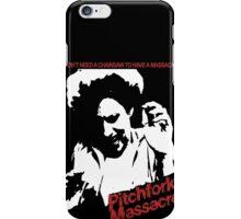 Pitchfork Massacre (Dark Backgrounds) iPhone Case/Skin