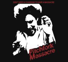 Pitchfork Massacre (Dark Backgrounds) by dogspecimen