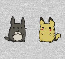 Totoro and Pikachu Kids Clothes
