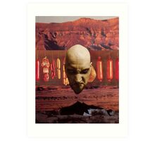 M Blackwell - Angry God of Desert Smallgoods... Art Print