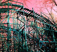 Abandoned Roller Coaster by Amber Williams