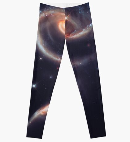 Spiral Galaxy   The Universe by Sir Douglas Fresh Leggings