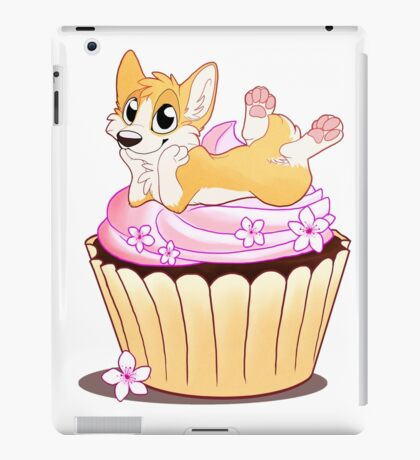 Corgi on a Cupcake iPad Case/Skin