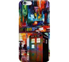 Tardis Night Painting iPhone Case/Skin