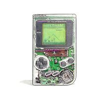 Game Boy Hi-Tech Transparent by jamesborgvisual