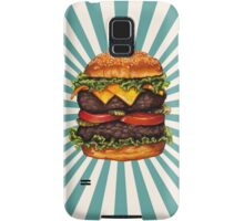 Double Cheeseburger Samsung Galaxy Case/Skin